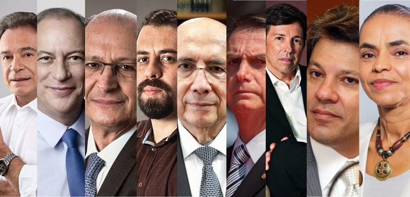 Resultado de imagem para candidatos a presidencia 2018