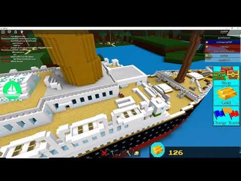 Roblox Titanic Build A Boat For Treasure How To Get Free Clothes