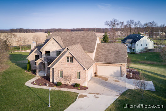 Drone Photographs—11220 N Park Ridge, Princeville :: Peoria, Illinois, Drone Aerial Photographer