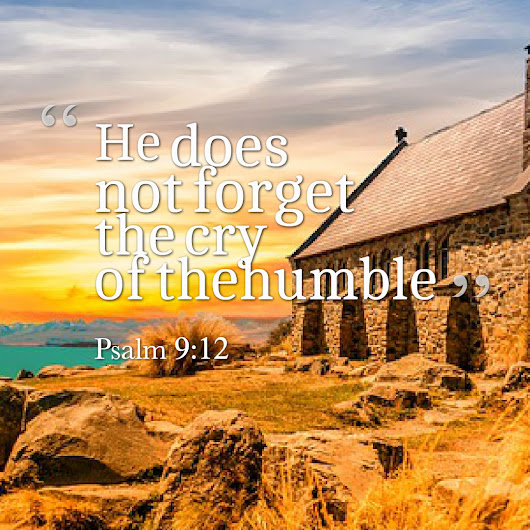 God Remembers The Cry Of The Humble