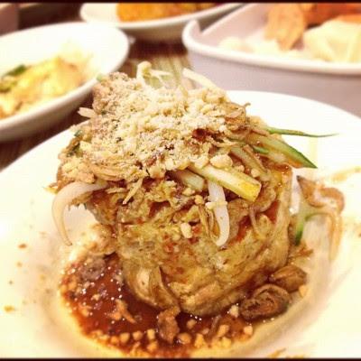 My Favourite! Tauhu Telor! #food  (Taken with instagram)