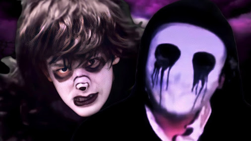 Man vs the marionette fnaf 2 or slender man vs freddy fazbear