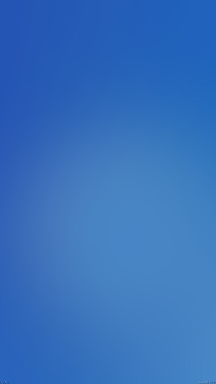 シンプルな青のグラデーション Iphone6壁紙 Wallpaperbox