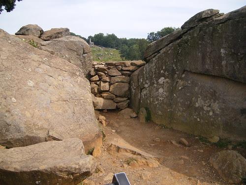 Devils Den at Gettysburg