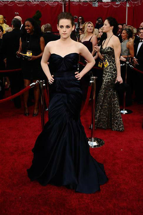 Kristen Stewart appears at the 82nd annual Academy Awards in Los Angeles, California on March 7, 2010.