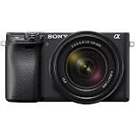 Sony a6400 ILCE-6400M 24.2 MP Mirrorless Ultra HD Digital Camera - 4K - Black - E 18-135mm OSS Lens