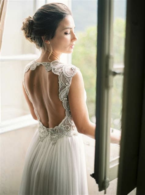 25  bästa Open back wedding idéerna på Pinterest   Open