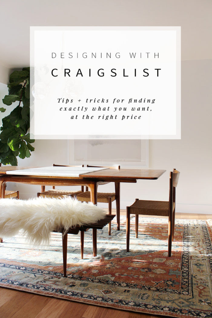 How To Use Craigslist To Decorate Your Home Hither Thither