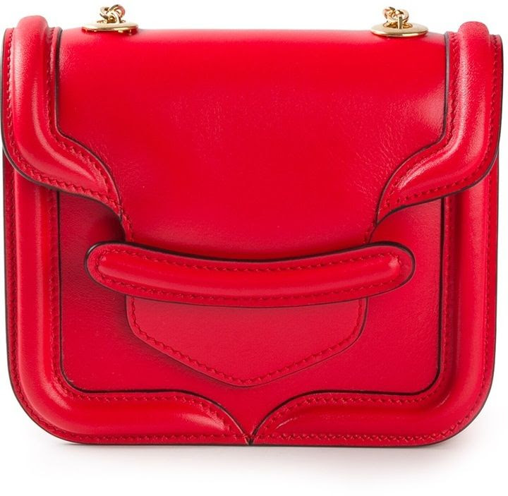 Alexander McQueen 'Heroine' cross body bag #handbags