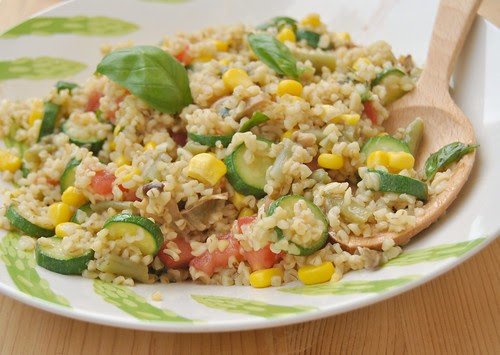 Colourful Summer Bulgur Salad