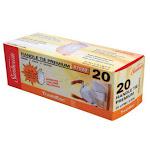 Sunbeam 87020 Trash Bags, 5 Gallon, 20 Count