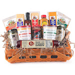 13pc Hot Spicy Wisconsin Sausage and Cheese Gift Pack by Christmas Central