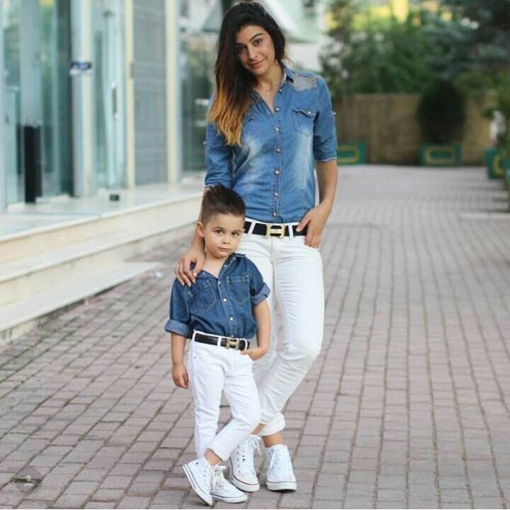 Try 14 Mother And Son Cute Outfits Ideas With Photoshoots