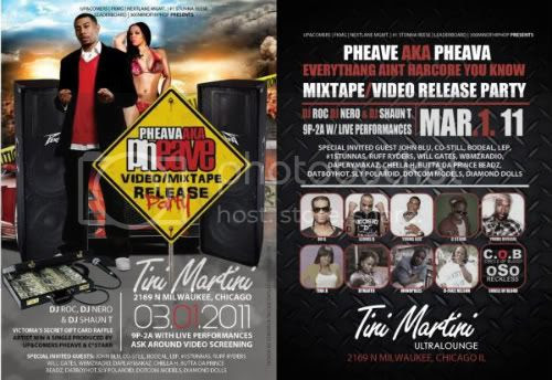 Pheave,DJ Shon Roka,Tini Martini,Chicago Hip Hop,Ask Around,Video Release,COAST2COASTMIXTAPEDJS,BRICKHEADZ
