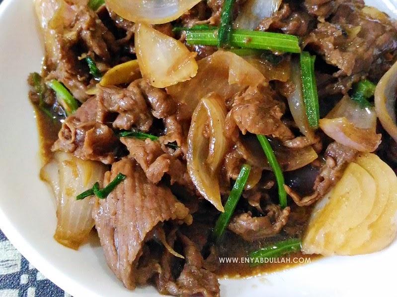 Daging Halia Kicap | EnyAbdullah.Com