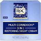 RoC Multi Correxion 5-in-1 Restoring Night Cream - 1.7 oz jar
