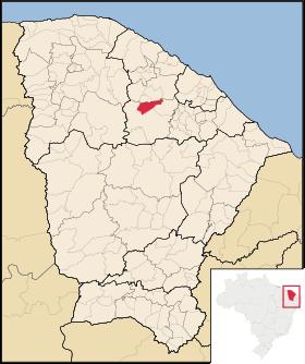 Localização de Paramoti