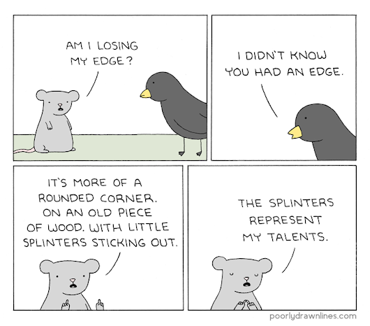 Poorly Drawn Lines – My Edge
