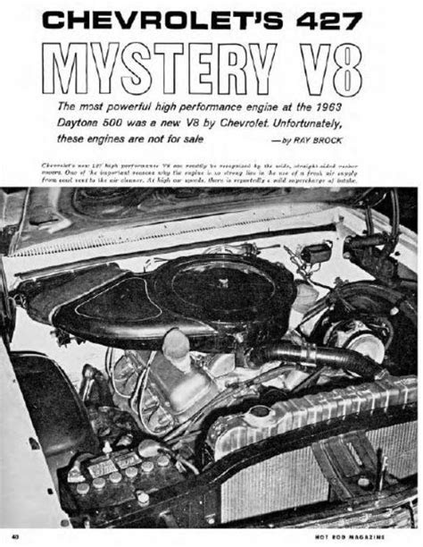 Inside the '63 Chevy 427 Mystery Engine | Mac's Motor City