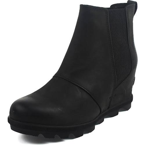 617f2769dbfd Sorel Joan of Arctic Wedge II Chelsea Boots Black 7 - Google Express
