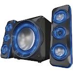 Sylvania Shtib1060-Bt Light-Up Bluetooth 2.1 Speaker System