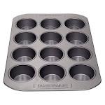 Farberware 52106 15.2 x 11.4 x 1.4 Nonstick Bakeware 12-Cup Muffin Pan