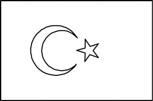 Bayrak şablonları Bayrak Boyama Sayfaları Sınıf öğretmenleri Için