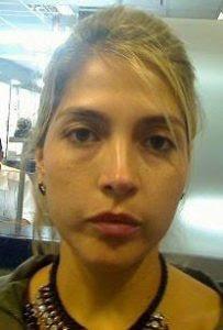 """Natalia Obando López, alias """"La Vieja""""."""
