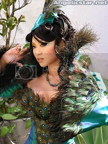 Beautiful Peacock woman Pictures, Images and Photos