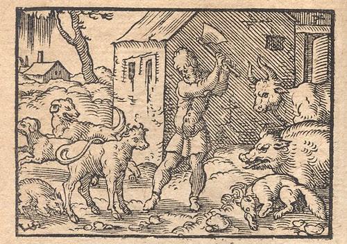 Canes et Rusticus (de fame) - Osius