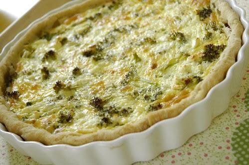 Spinach-Feta Quiche