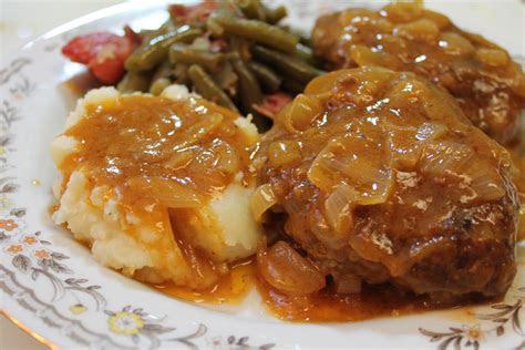 homemade salisbury steak recipe  heart recipes