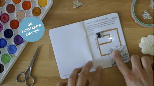 HACK YOUR NOTEBOOK - paper meets electronics
