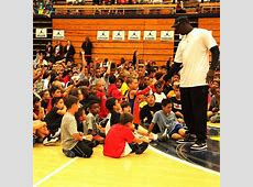 50 year old Michael Jordan dunks at his Flight School Camp