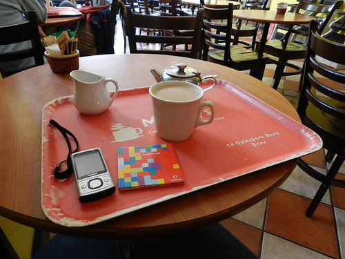 Sim transfer break @ Molloy's coffee shop
