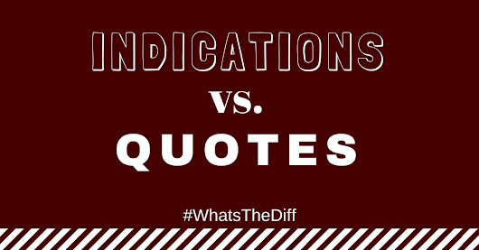 Indications vs. Quotes | What's the Diff? - Presidio Insurance