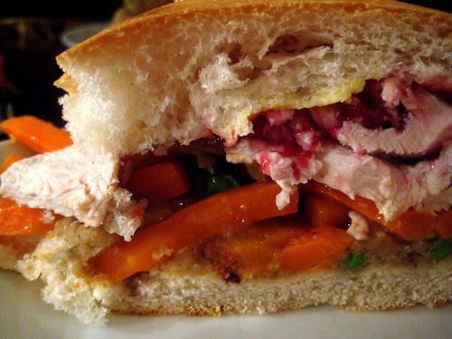 Roast turkey sandiwch 2