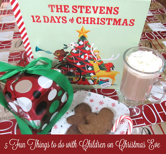 5 Fun Things to do with Children on Christmas Eve #iseemebooks @ISeeMe_Books - Taking Time for Mommy