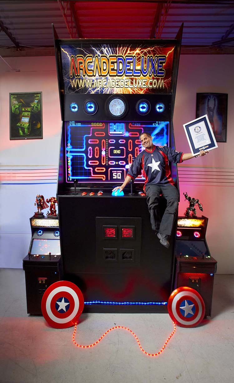 Largest Arcade Machine