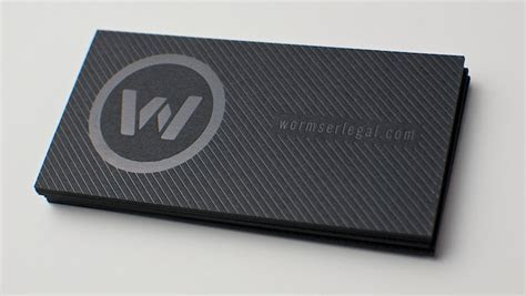 FPO: Wormser Legal Business Cards