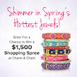 Enter For a Chance to Win a $1,500 Shopping Spree at Charm & Chain