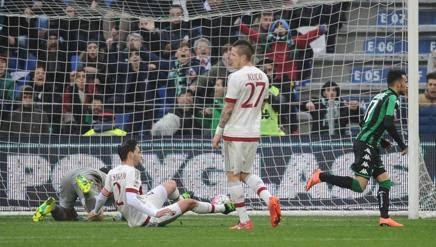 Milan perde para o Sassuolo e se afasta da UCL