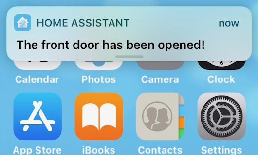 Home Assistant – notifications on iOS