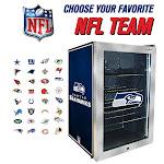 NFL Refrigerated 4.59CuFt Beverage Center - Green Bay