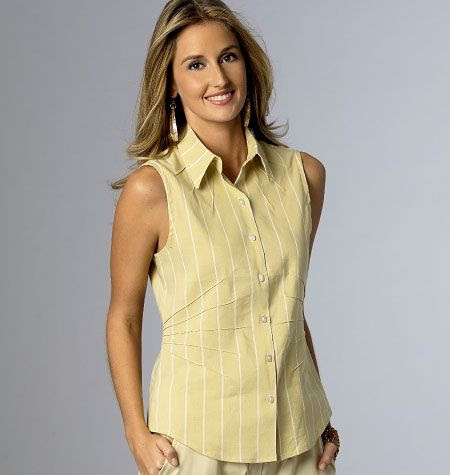 B6026-Katherine Tilton pattern, sleeveless version