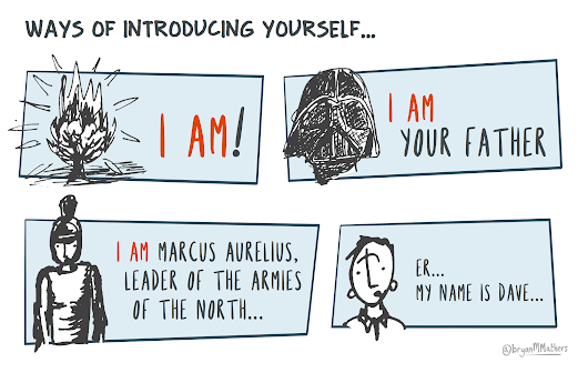 Ways of introducing yourself... - Visual Thinkery