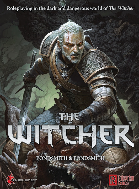 Dark and Deadly: A review of The Witcher tabletop RPG