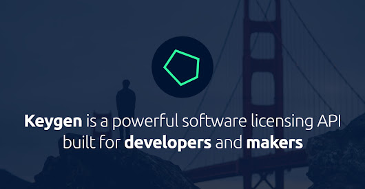 Keygen - a dead-simple product and app licensing API built for developers