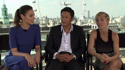 It's all thanks to you! Gal Gadot, Sung Kang, & Elsa ...