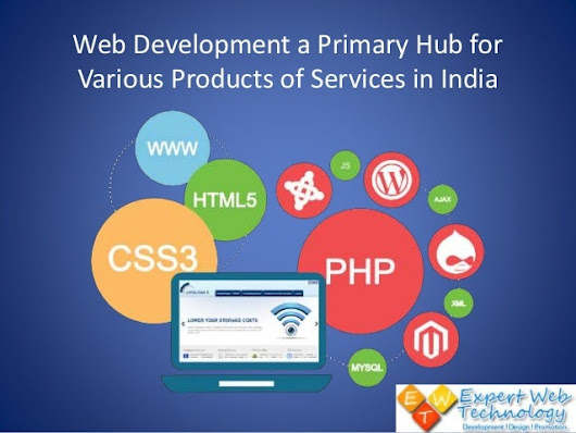 Web Development a Primary Hub for Various Products of Services in Ind…